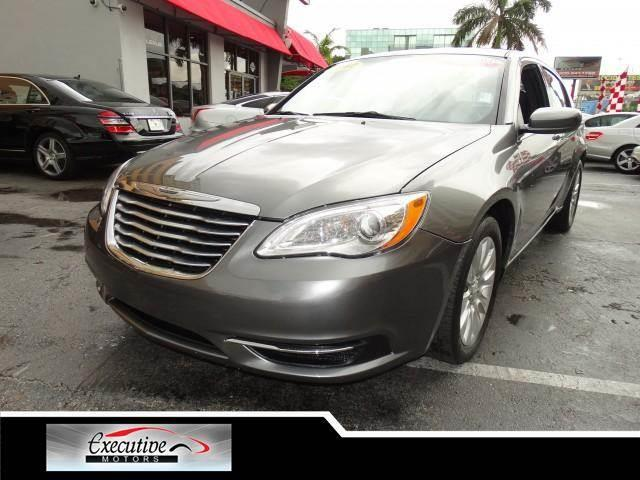 2012 CHRYSLER 200 LX 4DR SEDAN tungsten metallic all electrical and optional equipment on this veh