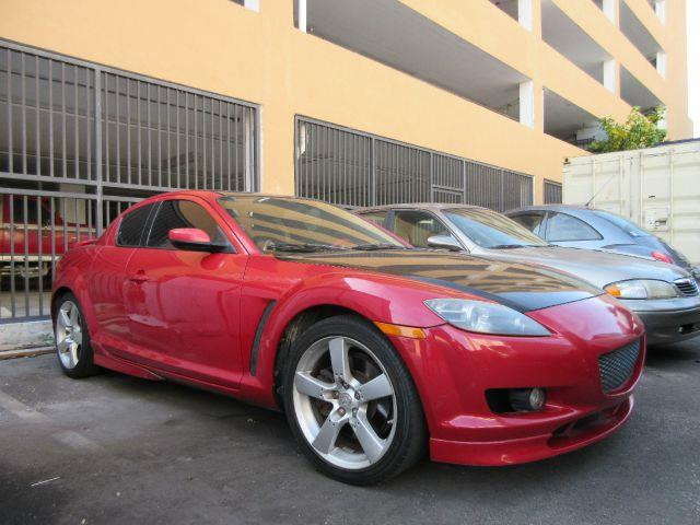 2005 MAZDA RX-8 MANUAL AUTOMATIC 4DR COUPE 13L red this japanese muscle car is screaming for an