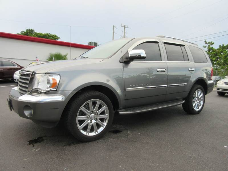 2009 CHRYSLER ASPEN LIMITED 4X2 4DR SUV gray this beautiful grey 2009 chrysler aspen comes with 3r