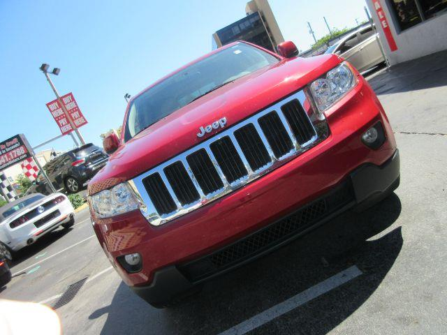 2011 JEEP GRAND CHEROKEE LAREDO 4X2 4DR SUV red the electronic components on this vehicle are in