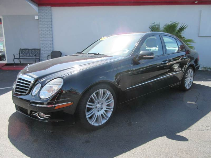 2008 MERCEDES-BENZ E-CLASS E350 4DR SEDAN black executive motors is a family owned and operated de