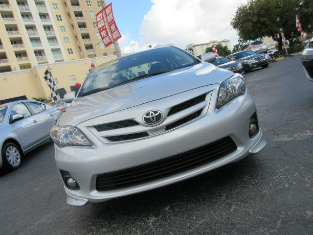 2013 TOYOTA COROLLA S 4DR SEDAN 4A silver abs - 4-wheel active head restraints - dual front air
