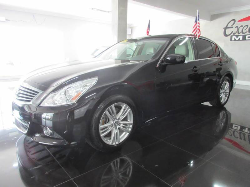 2011 INFINITI G37 SEDAN LIMITED EDITION 4DR SEDAN black executive motors is a family owned and ope