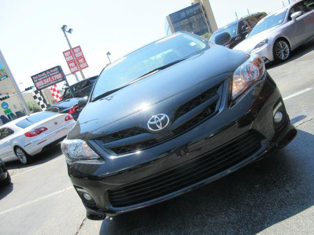 2012 TOYOTA COROLLA S 4DR SEDAN 4A black the electronic components on this vehicle are in working