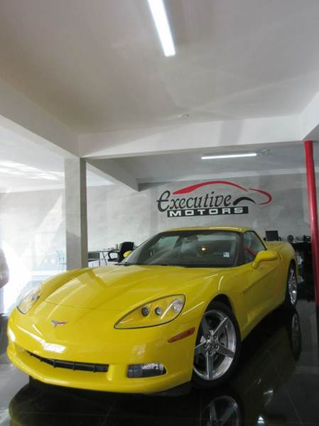 2006 CHEVROLET CORVETTE BASE 2DR COUPE yellow executive motors is a family owned and operated dea