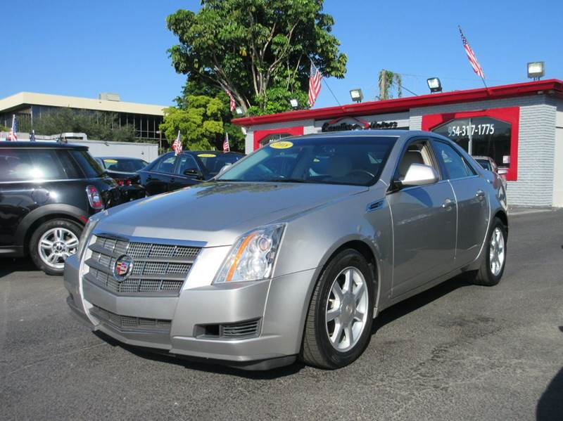 2008 CADILLAC CTS 36L V6 4DR SEDAN silver this beautiful 2008 cadillac cts is in a class of its o