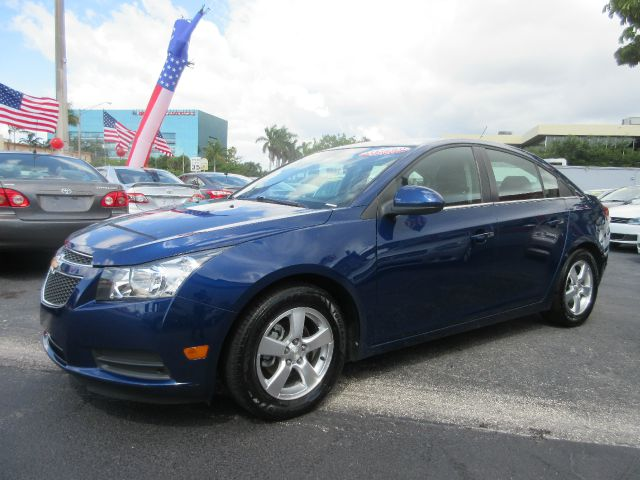 2012 CHEVROLET CRUZE LT 4DR SEDAN W1LT blue luxurious interior styling large trunk space great