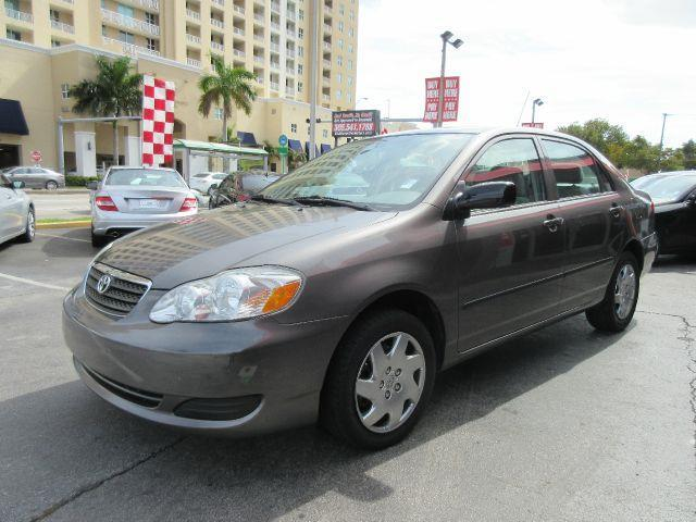 2008 TOYOTA COROLLA CE 4DR SEDAN 4A gray there are no electrical problems with this vehicle  no
