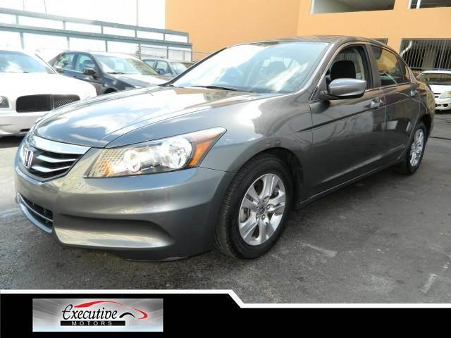 2011 HONDA ACCORD LX-P 4DR SEDAN polished metal metallic if you have a job we will approve you we