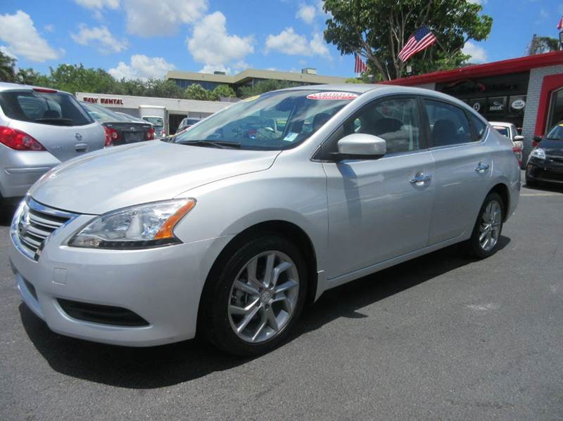 2014 NISSAN SENTRA SV 4DR SEDAN silver executive motors is a family owned and operated dealership