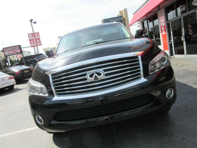 2011 INFINITI QX56 BASE 4X2 4DR SUV W SPLIT BENCH black all power equipment on this vehicle is in