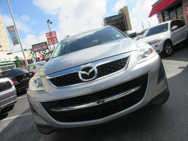 2011 MAZDA CX-9 TOURING 4DR SUV silver 2-stage unlocking - remote abs - 4-wheel active head res