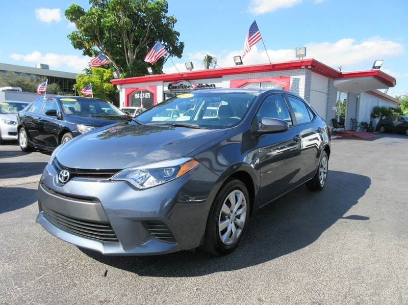 2014 TOYOTA COROLLA LE 4DR SEDAN grey looking for a gas saver this 2014 toyota corolla is what yo