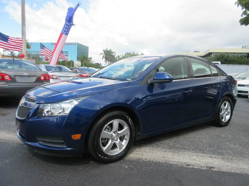2012 CHEVROLET CRUZE LT 4DR SEDAN W1LT blue executive motors is a family owned and operated deale