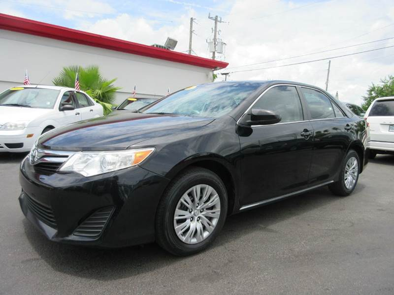 2012 TOYOTA CAMRY LE 4DR SEDAN black executive motors is a family owned and operated dealership th