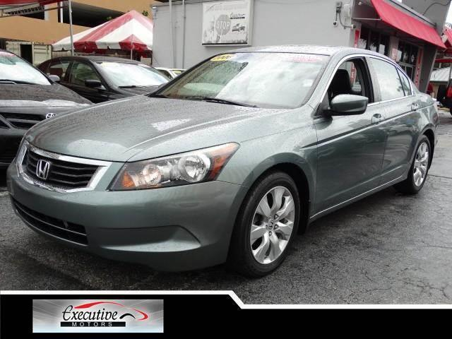 2008 HONDA ACCORD EX-L SEDAN mystic green metallic special offer take advantage of our equity spe