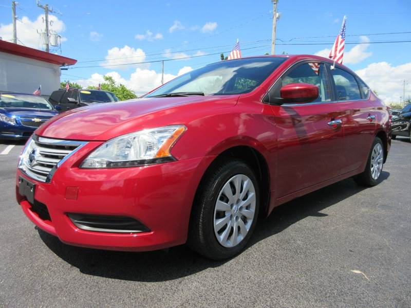 2013 NISSAN SENTRA SV 4DR SEDAN red executive motors is a family owned and operated dealership th