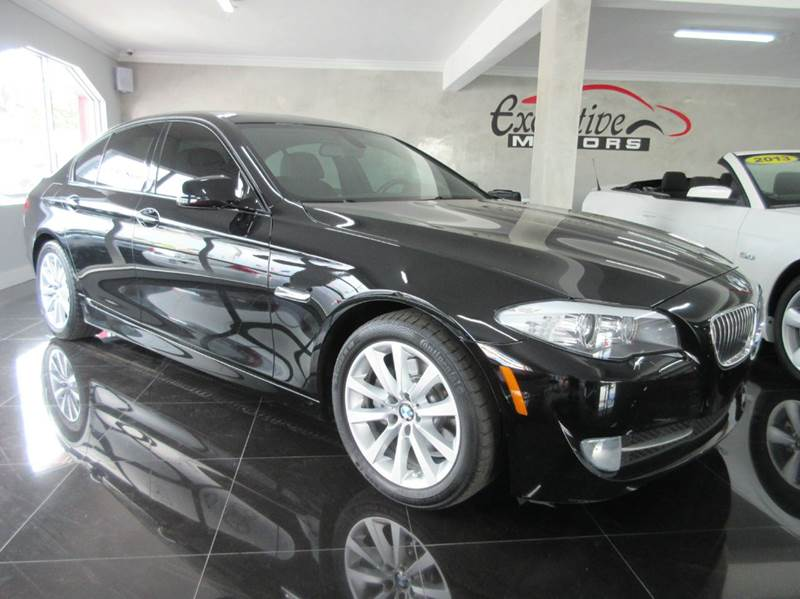 2012 BMW 5 SERIES 528I 4DR SEDAN black executive motors is a family owned and operated dealership
