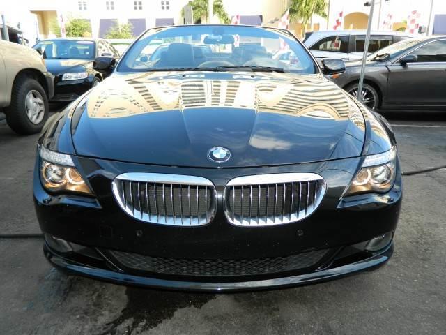 2009 BMW 6 SERIES 650I 2DR CONVERTIBLE jet black 2-stage unlocking - remote abs - 4-wheel activ