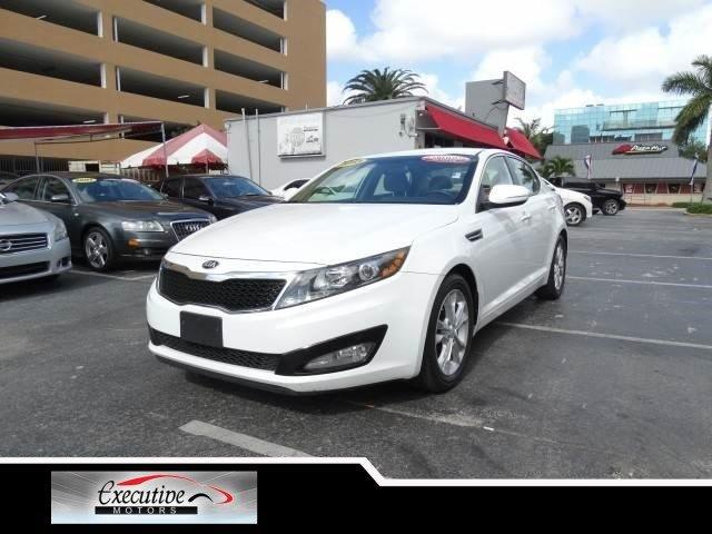 2013 KIA OPTIMA LX 4DR SEDAN snow white pearl special offer take advantage of our equity special