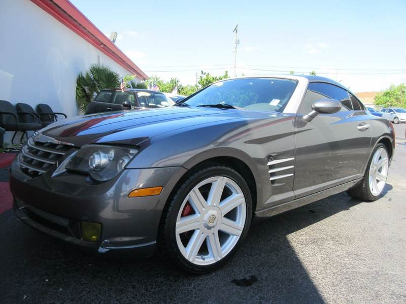 2004 CHRYSLER CROSSFIRE BASE 2DR SPORTS COUPE grey executive motors is a family owned and operate