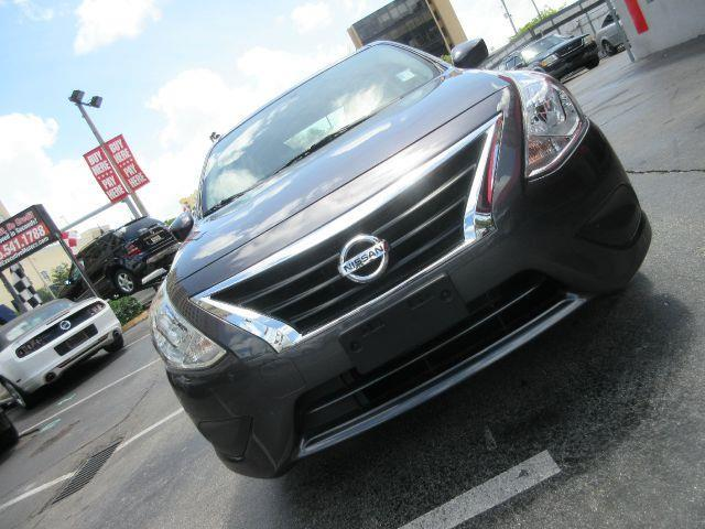 2015 NISSAN VERSA 16 SL 4DR SEDAN silver the electronic components on this vehicle are in working