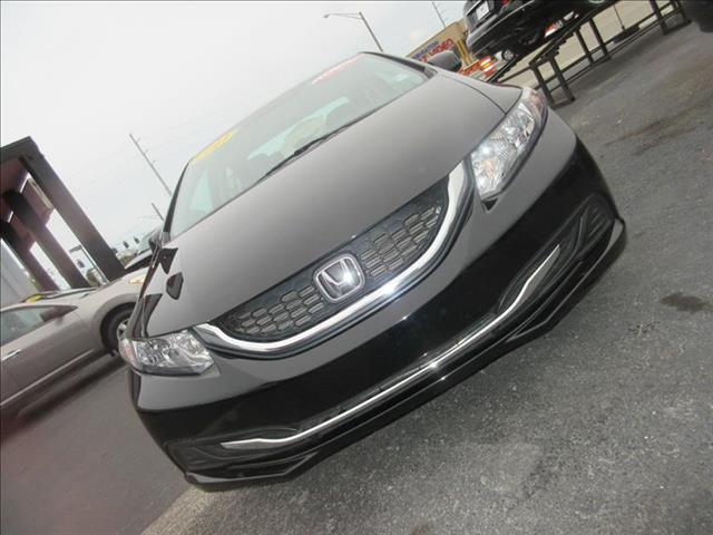2013 HONDA CIVIC LX 4DR SEDAN 5A black there are no electrical problems with this vehicle  there