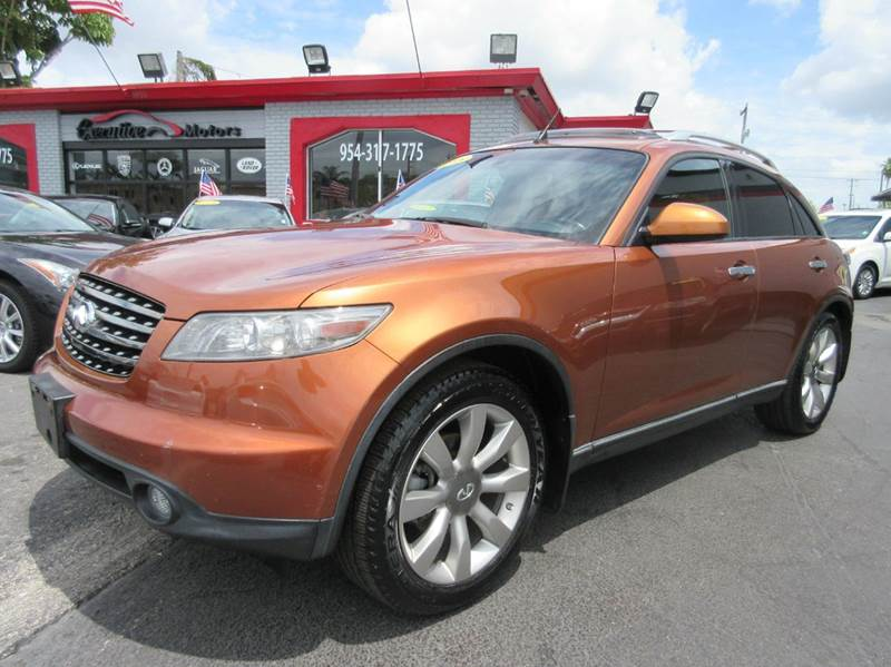 2005 INFINITI FX35 BASE RWD 4DR SUV orange executive motors is a family owned and operated dealer