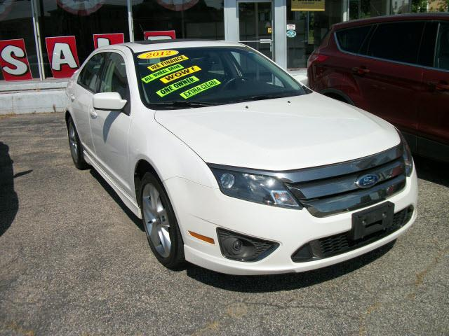 2012 Ford Fusion AWD Sport 4dr Sedan - Southbridge MA