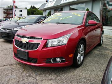 2013 Chevrolet Cruze for sale in Southbridge, MA