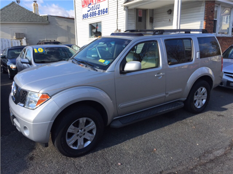 2006 Nissan Pathfinder for sale in Vauxhall, NJ