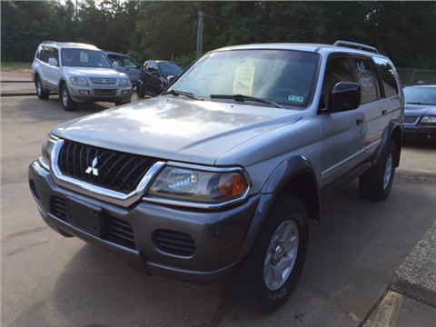 2002 Mitsubishi Montero Sport for sale in Nacogdoches, TX