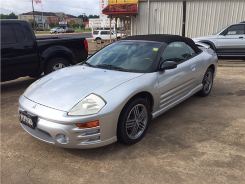 2003 Mitsubishi Eclipse Spyder for sale in Nacogdoches, TX