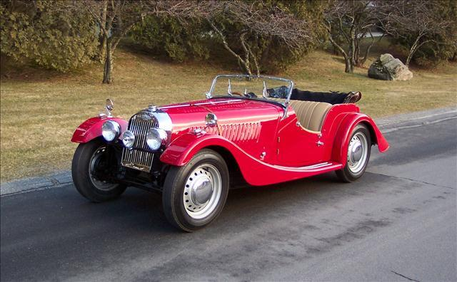 1952 Morgan + 4   Flat Rad