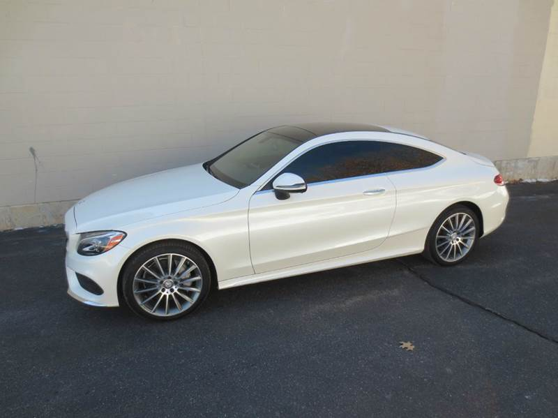 2017 Mercedes-Benz C-Class AWD C 300 4MATIC 2dr Coupe - Merrimack NH