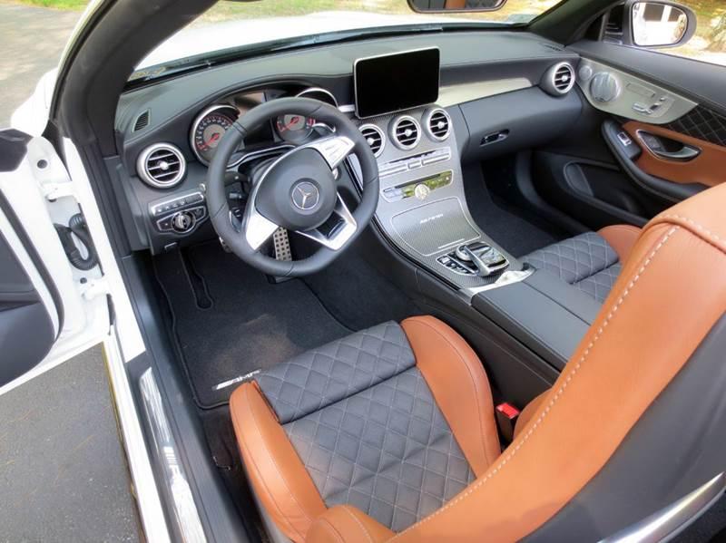 2017 Mercedes-Benz C-Class AMG C 63 S 2dr Convertible - Merrimack NH