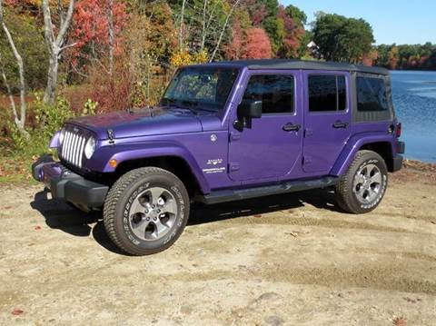 2017 Jeep Wrangler Unlimited for sale in Merrimack, NH