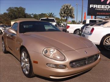 2004 Maserati Spyder for sale in Tampa, FL