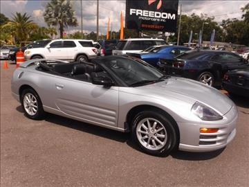 2002 Mitsubishi Eclipse Spyder for sale in Tampa, FL