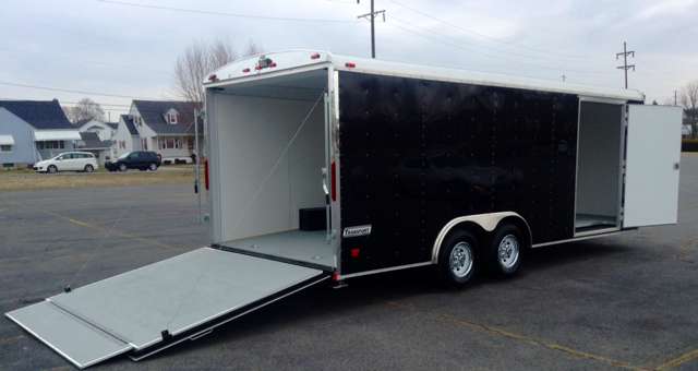 2014 Haulmark  Transport Deluxe 8.5x20 - 10K GVW - Finance Me - Old Forge PA