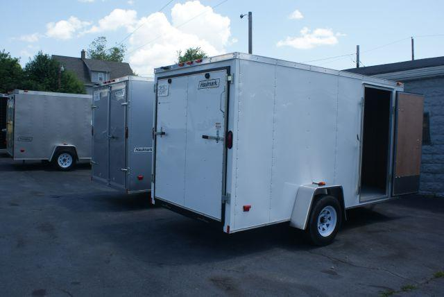 2014 Haulmark 6x12 V-Nose w/Ramp Door *Cash/Check Price - No Trade* - Old Forge PA