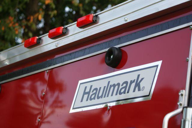 2014 Haulmark 6x12  Transport - Black / Red - Old Forge PA