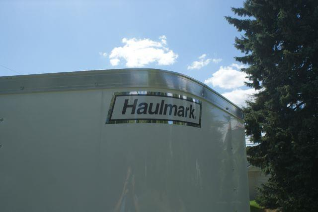 2014 Haulmark Polar White 5x8 +V-Nose Enclosed Cargo Trailer - Old Forge PA