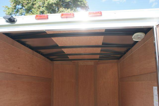 2014 Haulmark 5x8 Plus V-Nose Enclosed Cargo Trailer - Old Forge PA