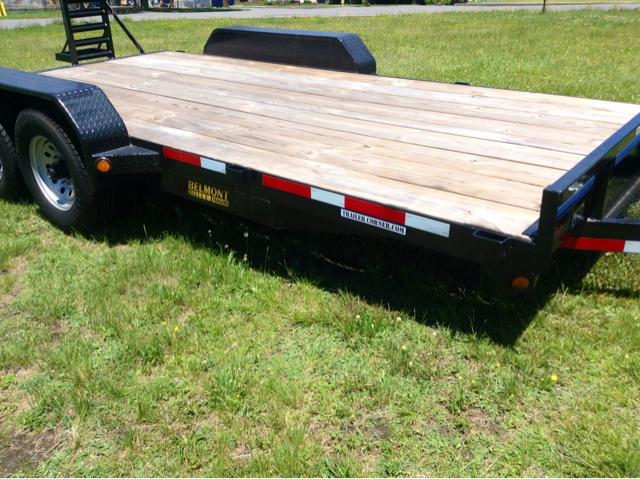 2012 Belmont 8x18 Equip Hauler Heavy Duty 12K GVWR - Old Forge PA
