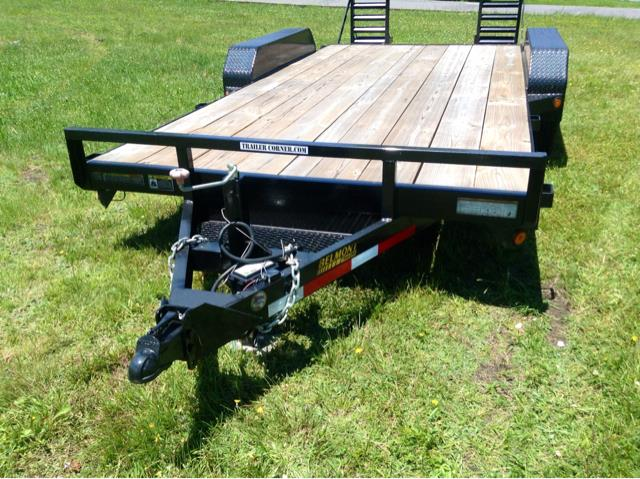 2012 Belmont 8x18 Equip Hauler Heavy Duty 12K GVWR - Old Forge PA