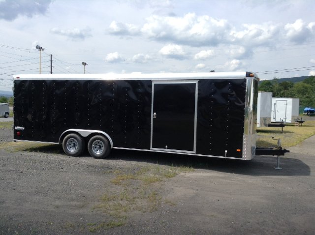 2014 Haulmark Transport Deluxe 8.5x24 10K GVWR / 120 Volt 50 Amp Light Pkg / Torsion - Old Forge PA