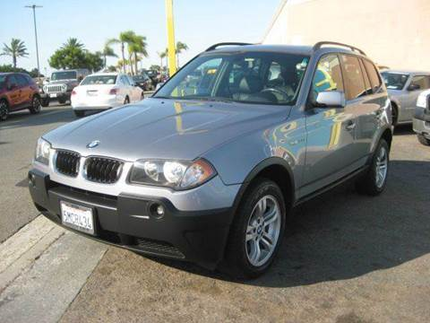 2005 BMW X3 for sale in San Diego, CA