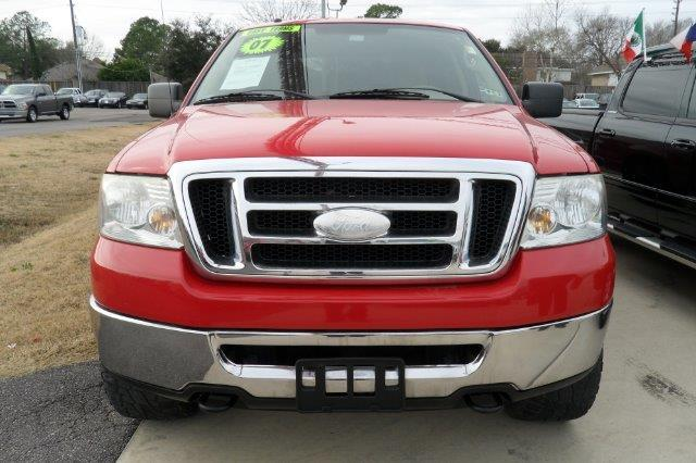 2007 FORD F-150 4DR 4WD red down payment 2000  excel motors offers an extensive inventory of qual