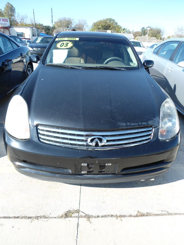 2003 INFINITI G35 BASE LUXURY 4DR SEDAN WLEATHER black abs - 4-wheel anti-theft system - alarm